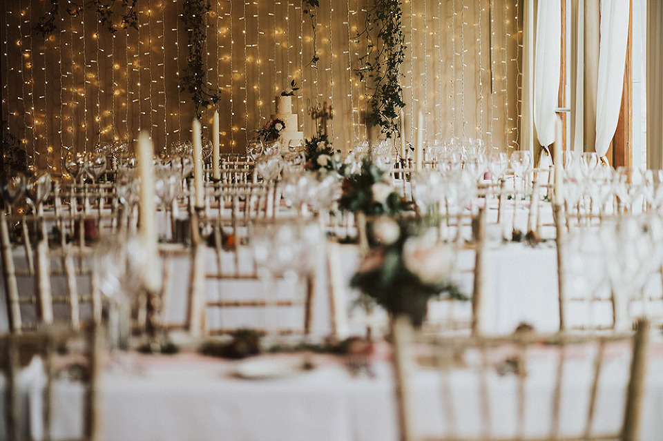 fairy lights and wedding setting, styling by Styled by Amber, Bellinter, IRELAND
