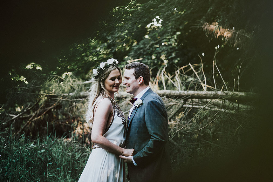 Sinead and Cormac, wedding day, styled by Amber, in Garden Ireland