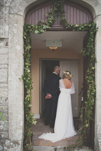 Styled by Amber Michelle Shane Langton Wedding father bride church door