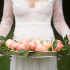 Styled_By_Amber_Luxe_Bohemian_Wedding_Inspiration_Shoot_bride_apples_tray
