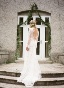 Styled_By_Amber_Luxe_Bohemian_Wedding_Inspiration_Shoot_bride_steps
