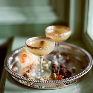 Styled_By_Amber_Luxe_Bohemian_Wedding_Inspiration_Shoot_champagne_glasses